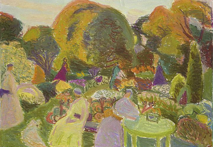 Выставка Ирины Лотовой «Мой сад, мой цвет»
