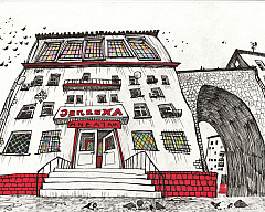Выставка графики  Кати Баландиной «Копилка»