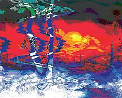 Выставка художника Евы «Русь»
