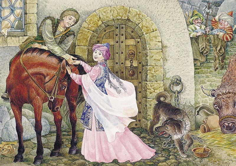 татарская народная сказка с иллюстрациями врач