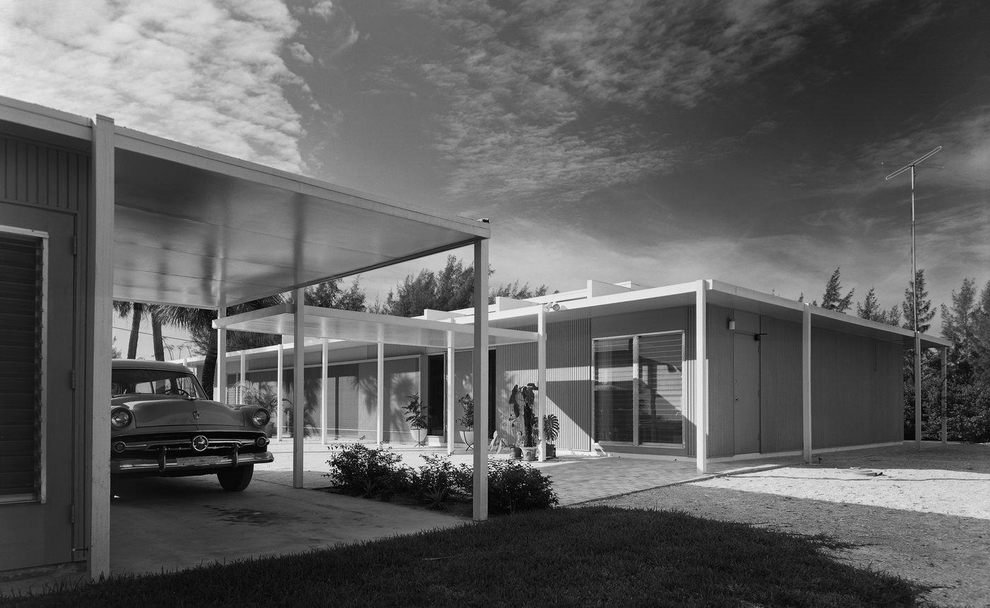 Эзра Столлер. Дом Коэна. Арх.: Пол Рудольф. Сиеста-Ки, шт. Флорида, 1955