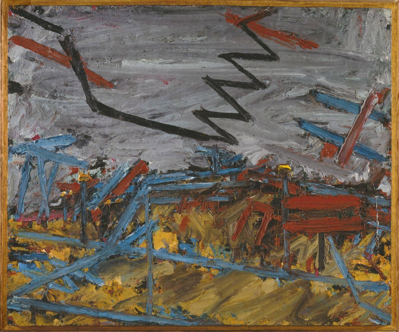 Франк Ауэрбах. Примроуз-Хилл, 1967-1968