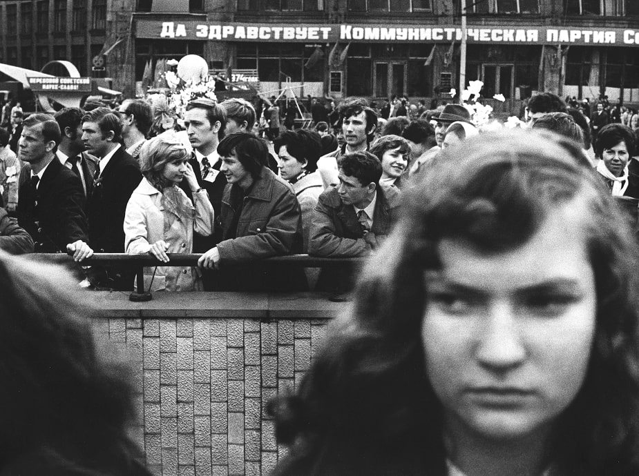 "Exhibition ""Native Retro. 1962 - 2002. Moscow saga of photographer Mikhail Dashevsky"""
