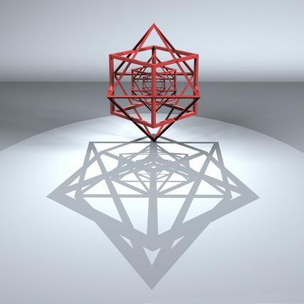 Métamorphose du cube. Exposition de Vladimir Antoshenkov