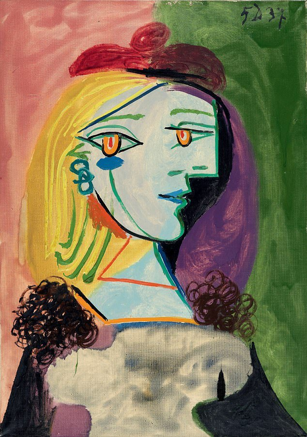 """""""Annabelle"""" Picasso - renaming the picture"""