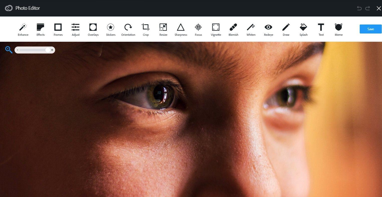 Онлайн-фоторедактор Adobe Aviary
