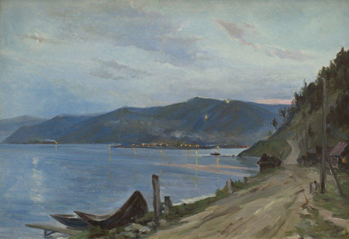 Александра Мадиссон. Огни на Байкале