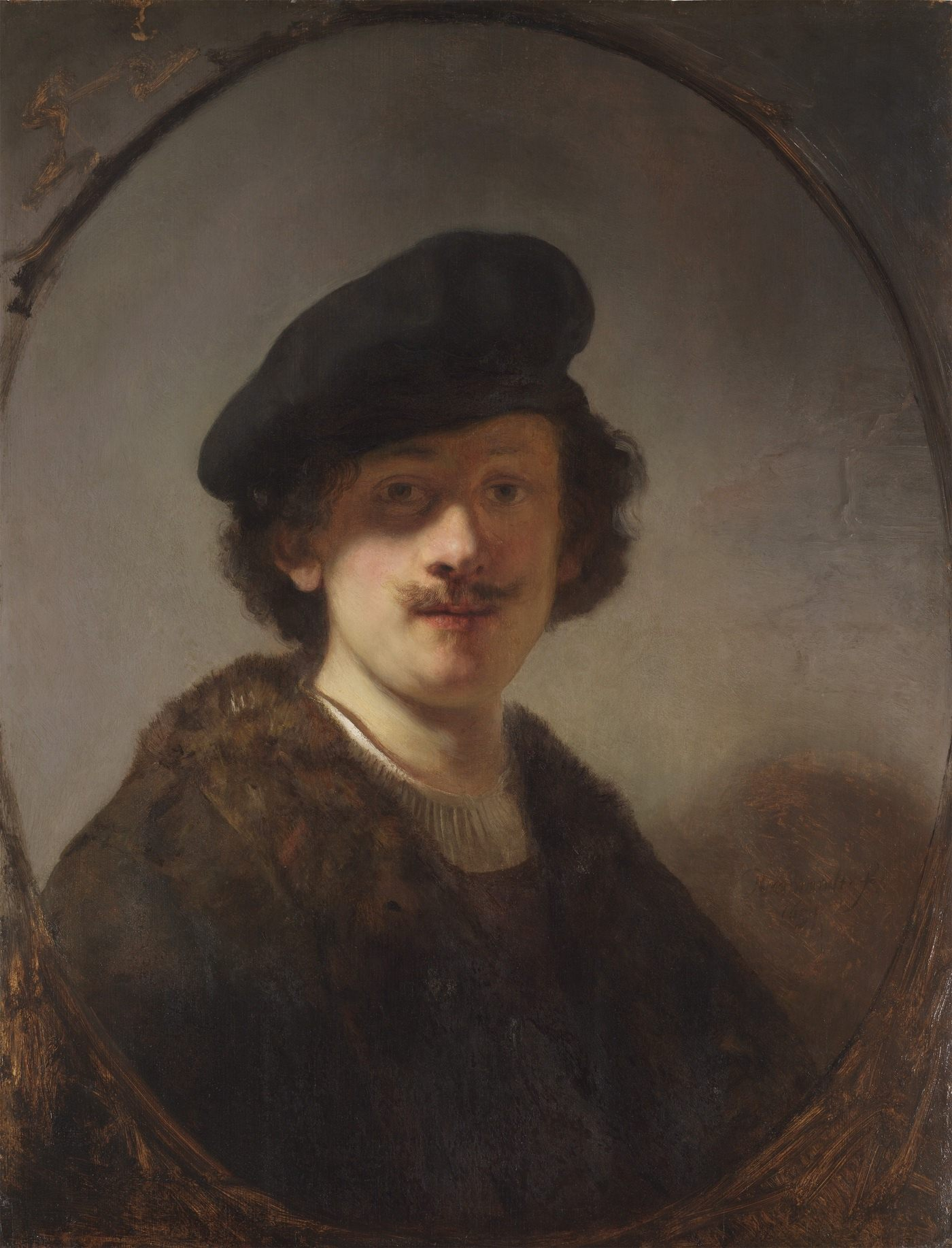 The Pushkin Museum. A.S. Pushkin invites to the Museum of Rembrandt's birthday