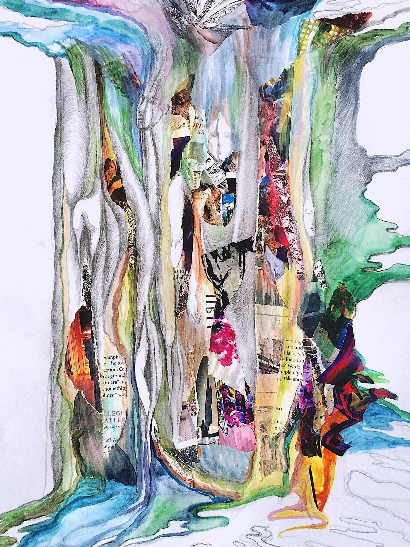 """Exposición personal de Alexandra Knyazeva """"Si hay, entonces quién"""""""