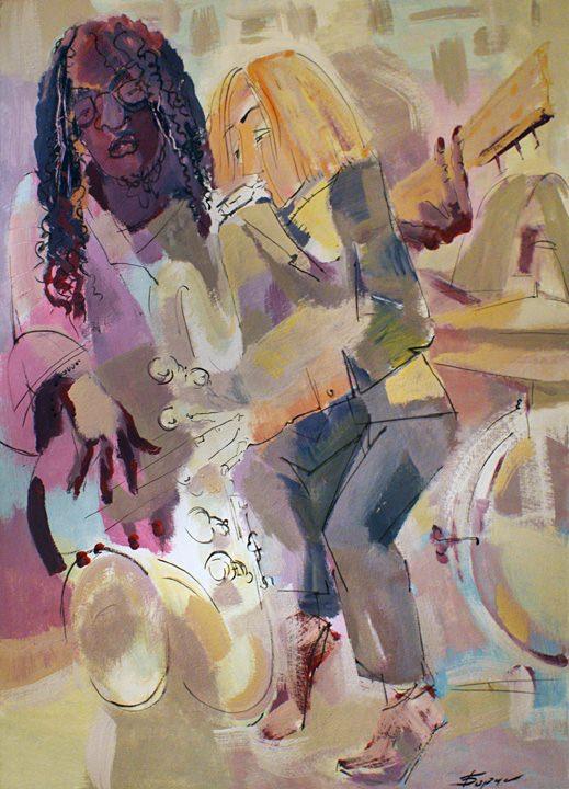 """Ausstellung von Gemälden und Zeichnungen von Viktor Borisov """"The Magic of Motion"""", 16+"""