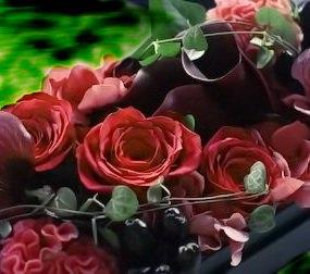 Produits à partir de fleurs stabilisées
