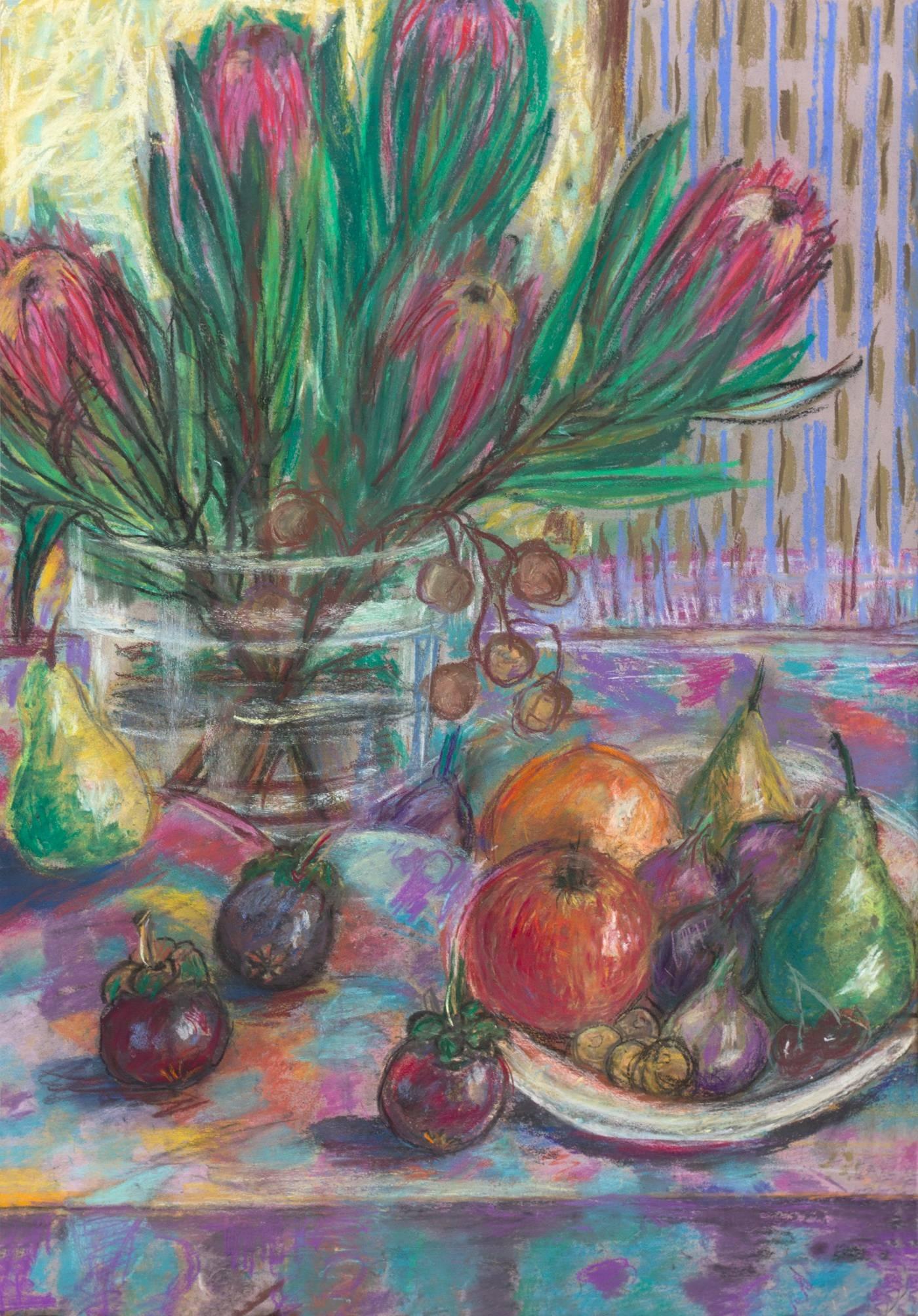 "Exposición ""Un momento"". Acuarelas y pasteles de Galina Khomenko"