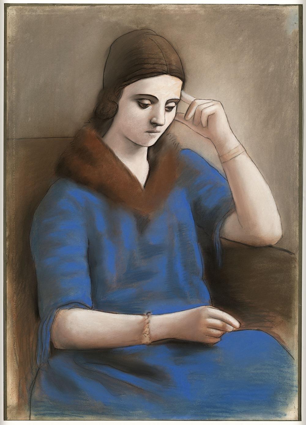 Picasso et Khokhlova