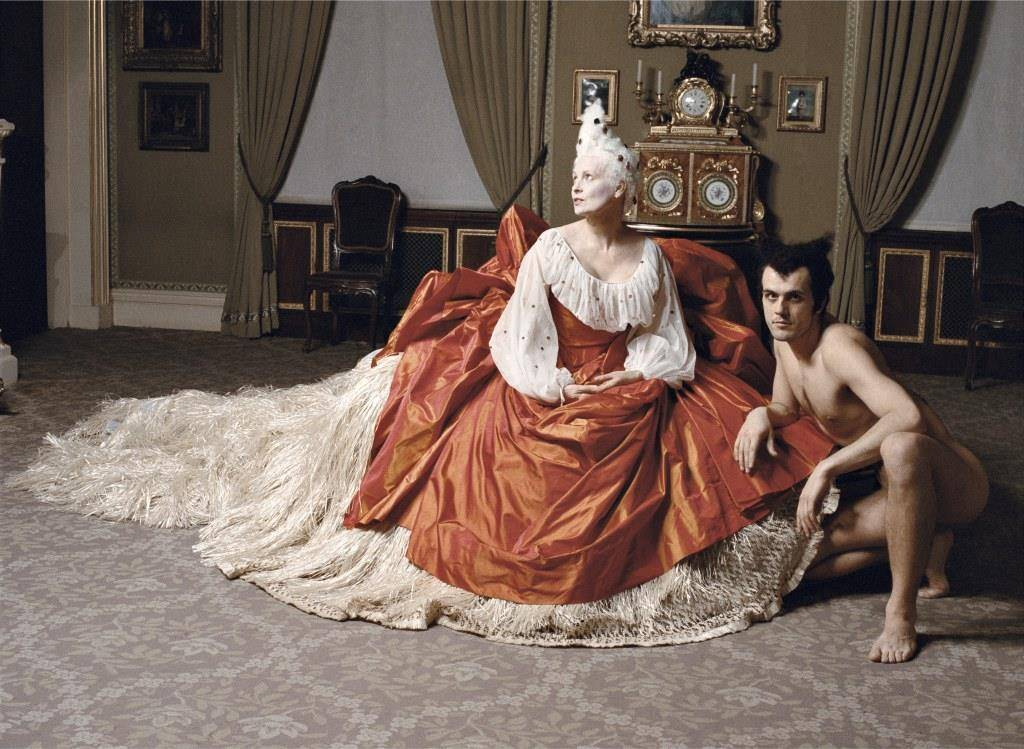 Жан-Мари Перье. Вивьен Вествуд. Музея Собрания Уоллеса. Лондон, сентябрь 1994