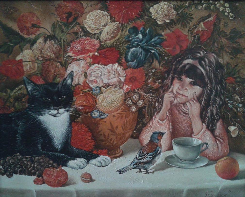 """Exposition Sergei Rakutov """"Fleurs de chats"""""""