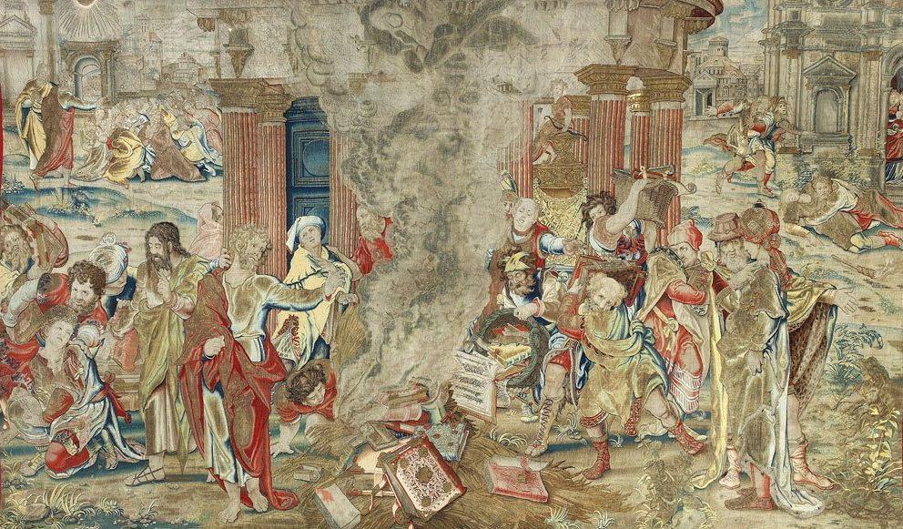 Гобелен Генриха VIII, считавшийся утерянным, обнаружен в Испании