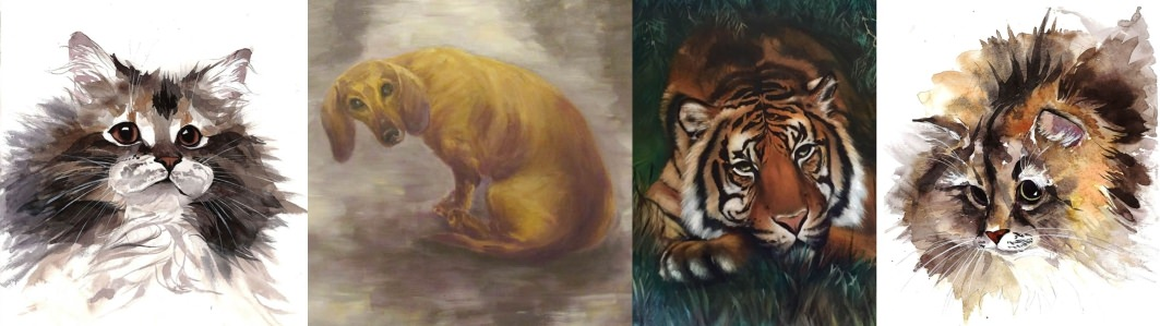 "Salon international-concours d'art animalier ""ANIMAL PORTRAIT"""