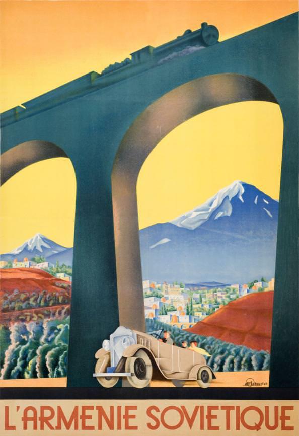 «Советская Армения», 1936-1937 гг., пресс-служба ИНТУРИСТ