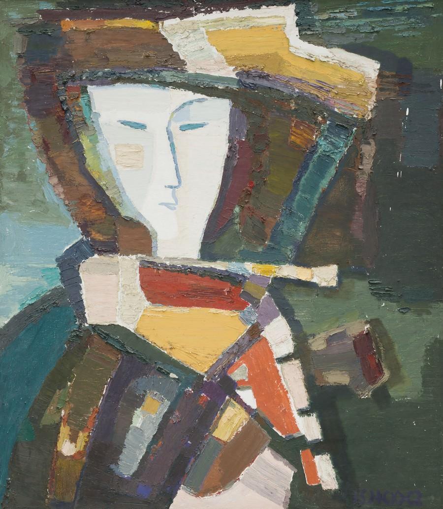 Виталий Смагин. Ангара. 1995–1997. Холст, масло