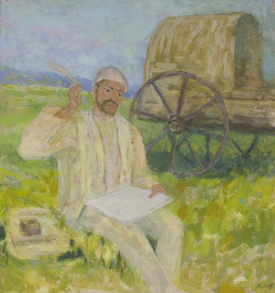 К.Нафиков. Васыл Куш, 2014