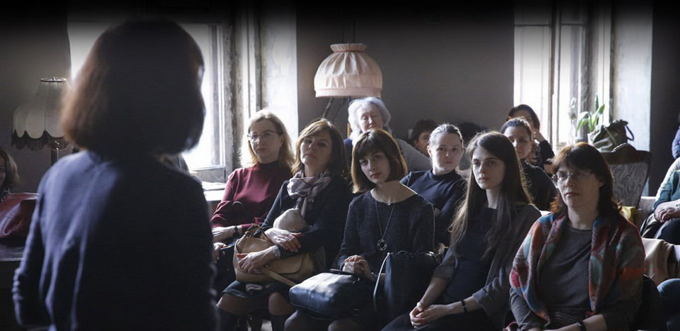 "Vortrag von Leyla Guchmazova ""ON THE SIDE"""