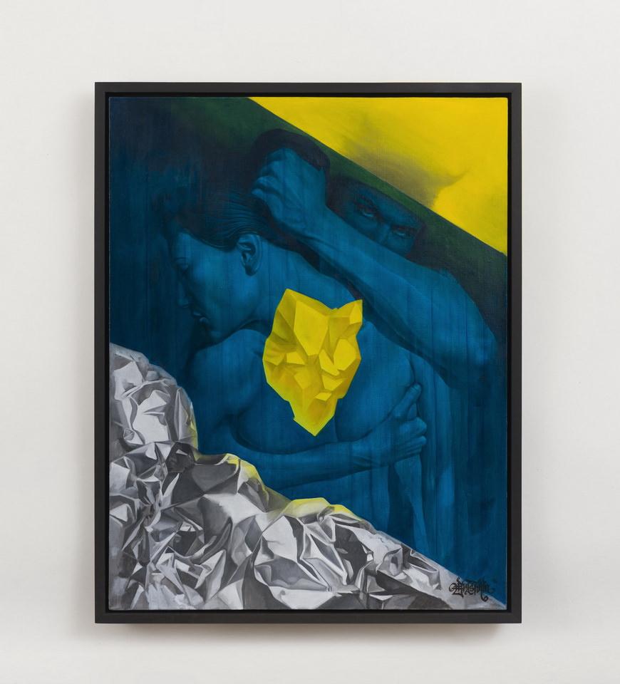 Александр Брашкин. Зона комфорта. 2016, холст, масло, 90×70 см