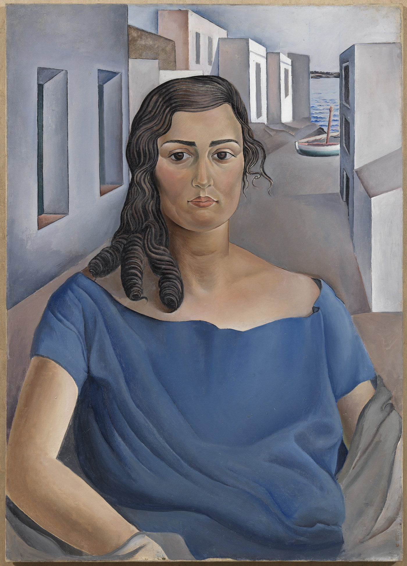 Портрет моей сестры. 1925. Холст, масло. 92 х 65 см. Фонд «Гала – Сальвадор Дали»