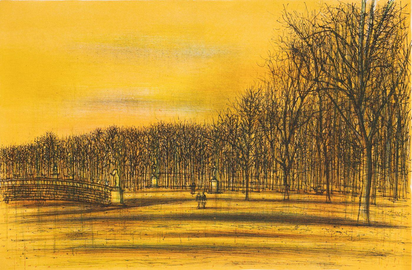 Мост в парке. Жан Карзу.