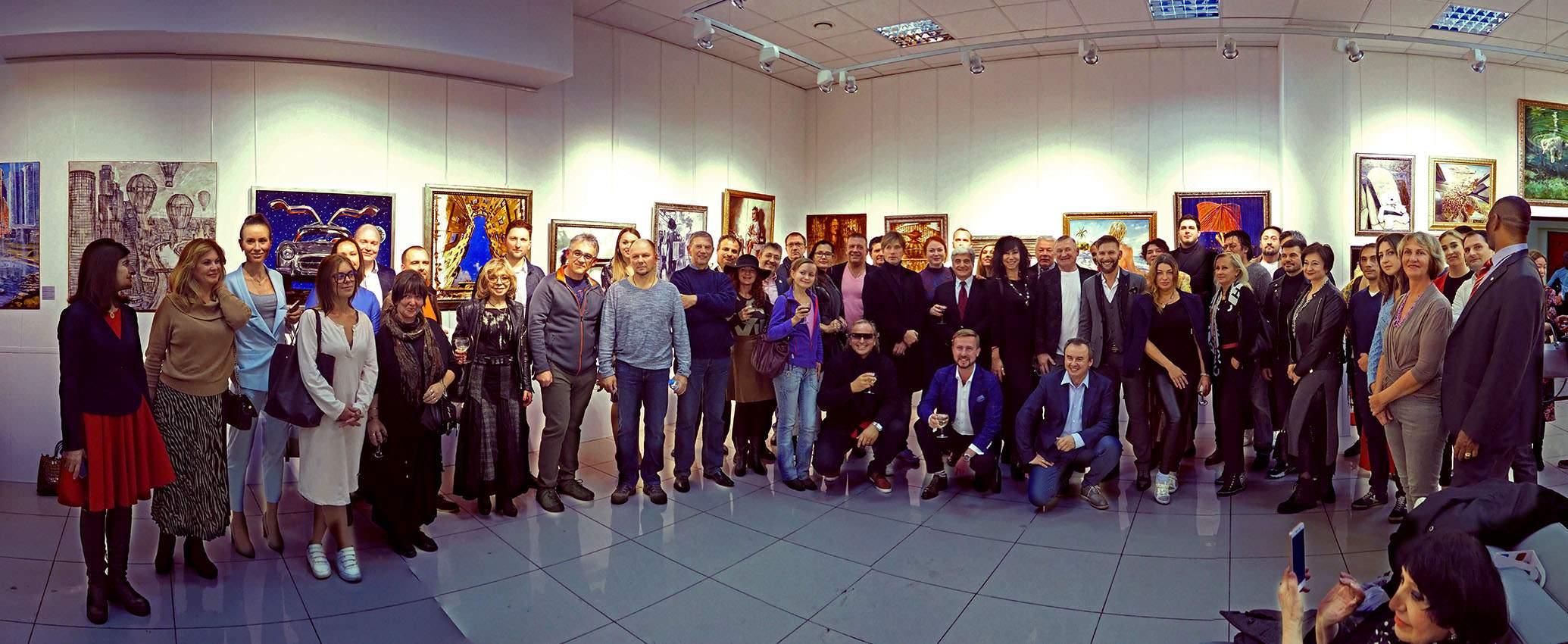 Игорь Дрёмин: ЦЕЛЬ - Выставка Alex Che