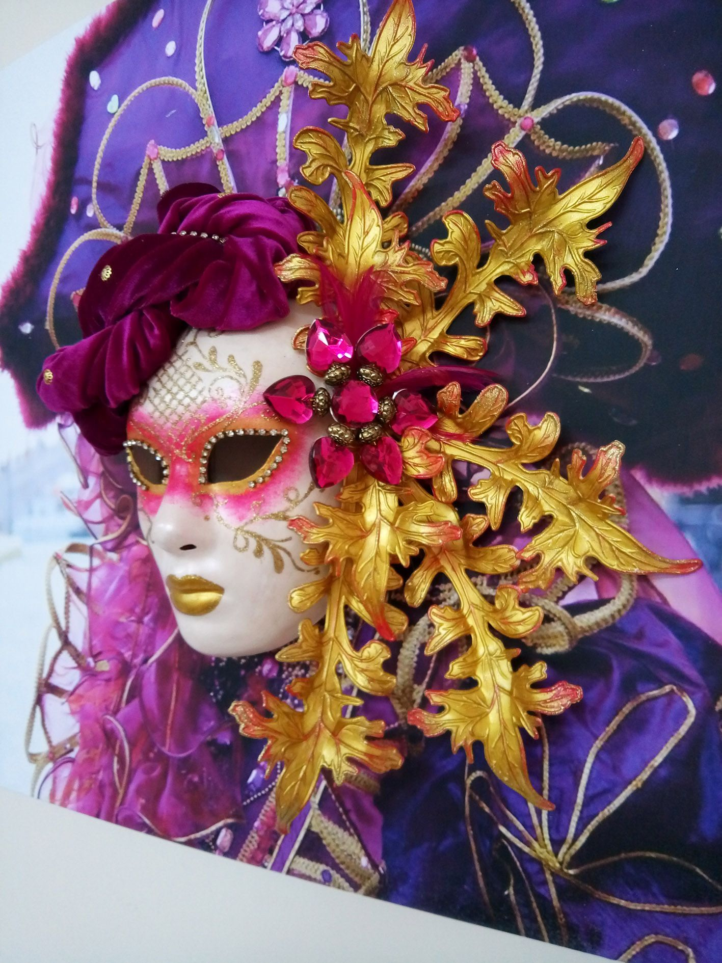 "Exposición ""Carnaval de Venecia"""