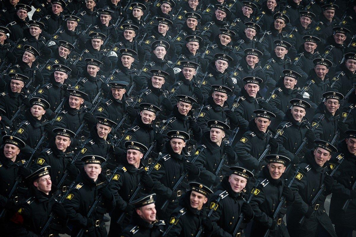 На марше. © Александр Казаков, «Вечерняя Москва», 2015