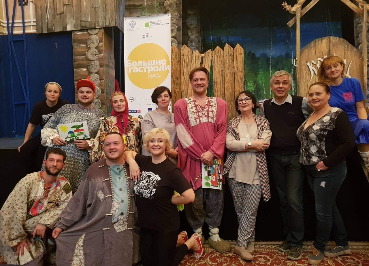 Большие гастроли в Московском театре кукол Жар-птица