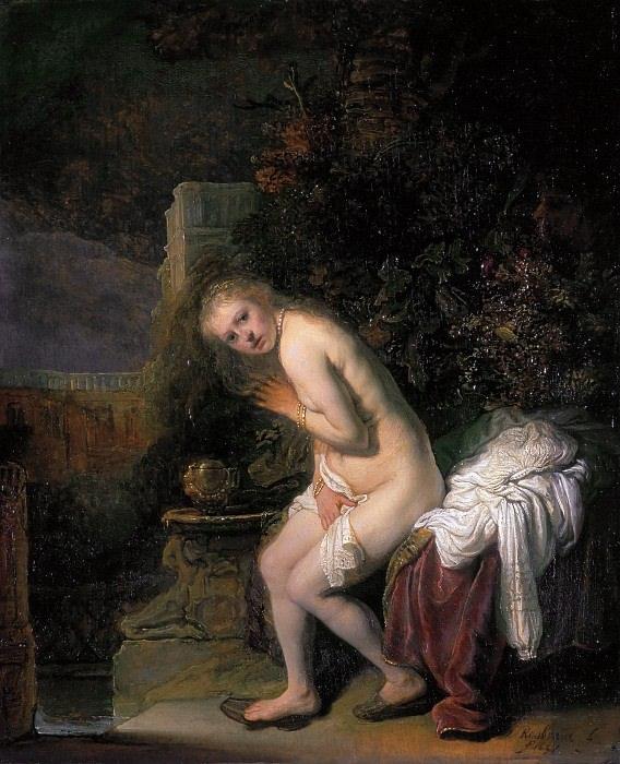 Сусанна (1636) из коллекции музея Маурицхёйс, Гаага