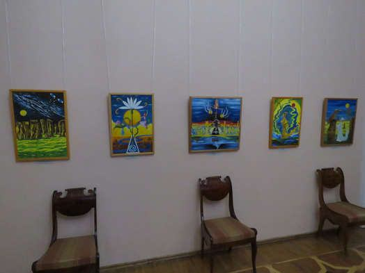 "Exhibition of paintings by Lyubov Talimonova ""Through times and spaces"""
