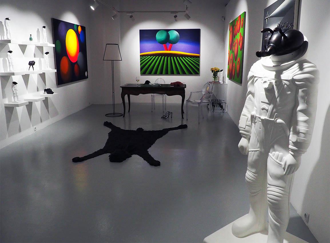 Игорь Дрёмин: Выставка в CUBE Moscow