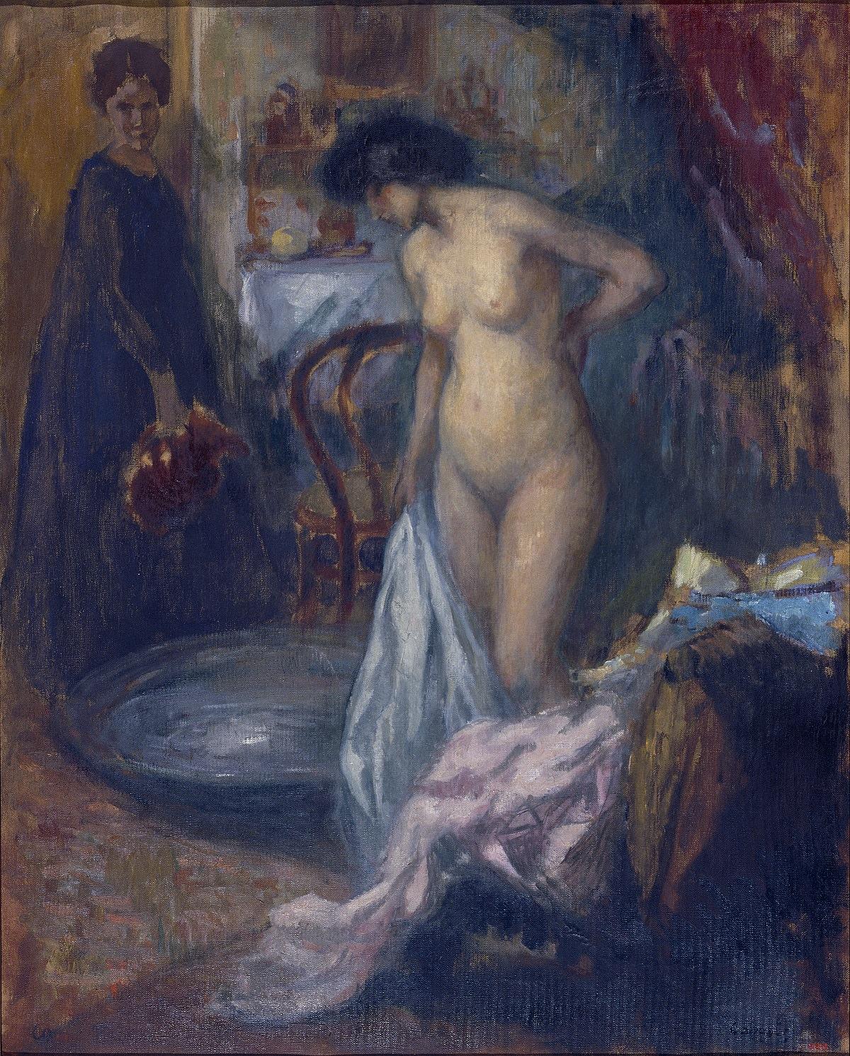 Рикард Каналс. Ванна. Ок. 1905. Национальный музей искусства Каталонии, Барселона