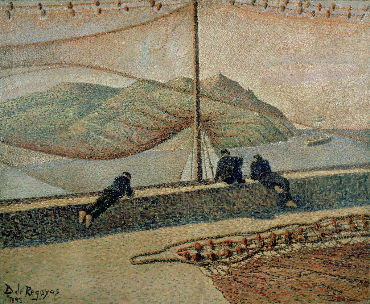 Дарио Регойос. Сети. 1893. Частная коллекция, Мадрид