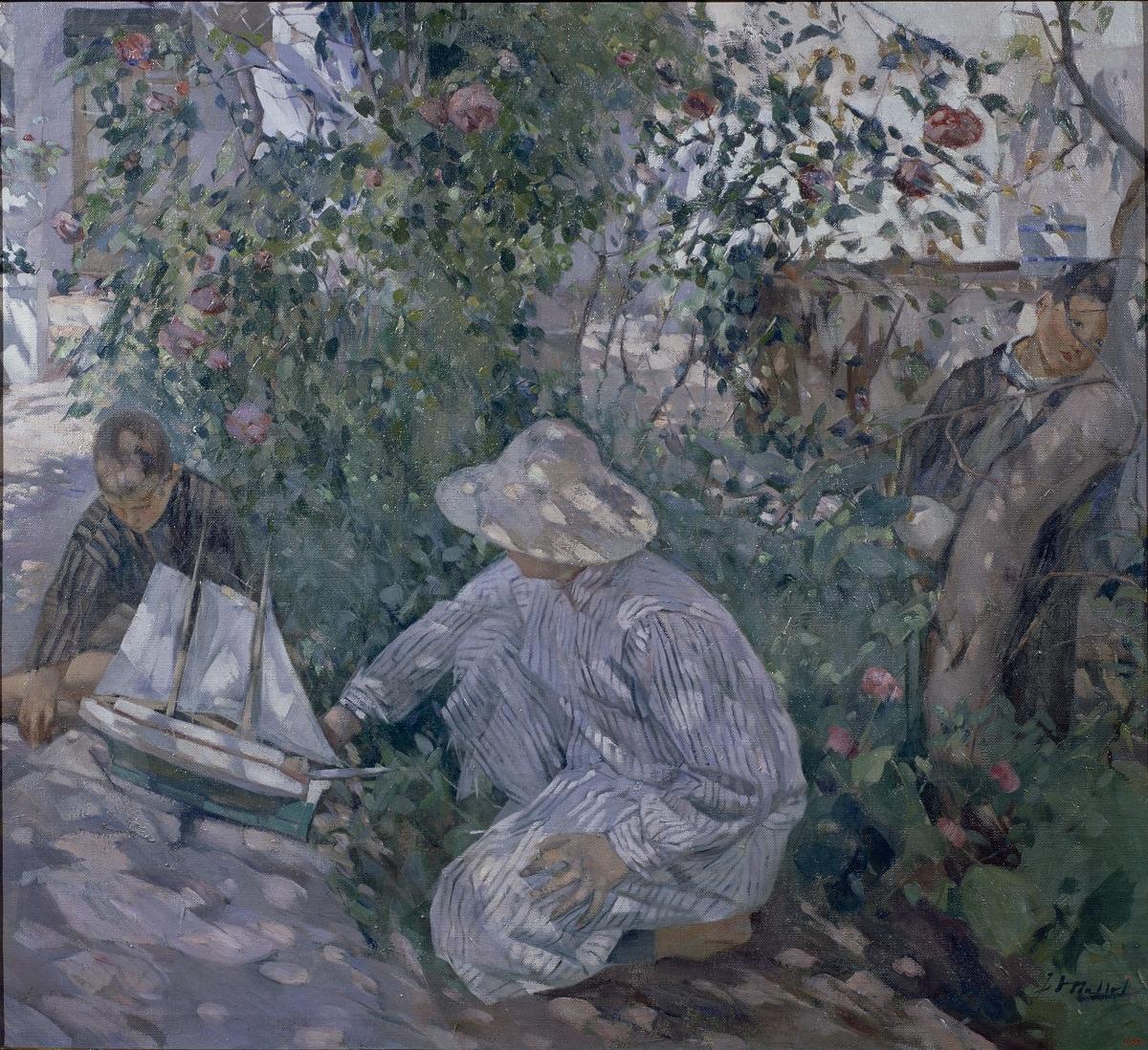 Игнасио Майоль. Кусты роз (Коста-Брава). 1920. Национальный музей искусства Каталонии, Барселона