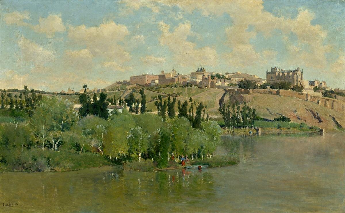 Аурелиано де Беруэте-и-Морет. Вид на юг Толедо из Лос Сгарралес. ок. 1895. Музей Санта-Круз