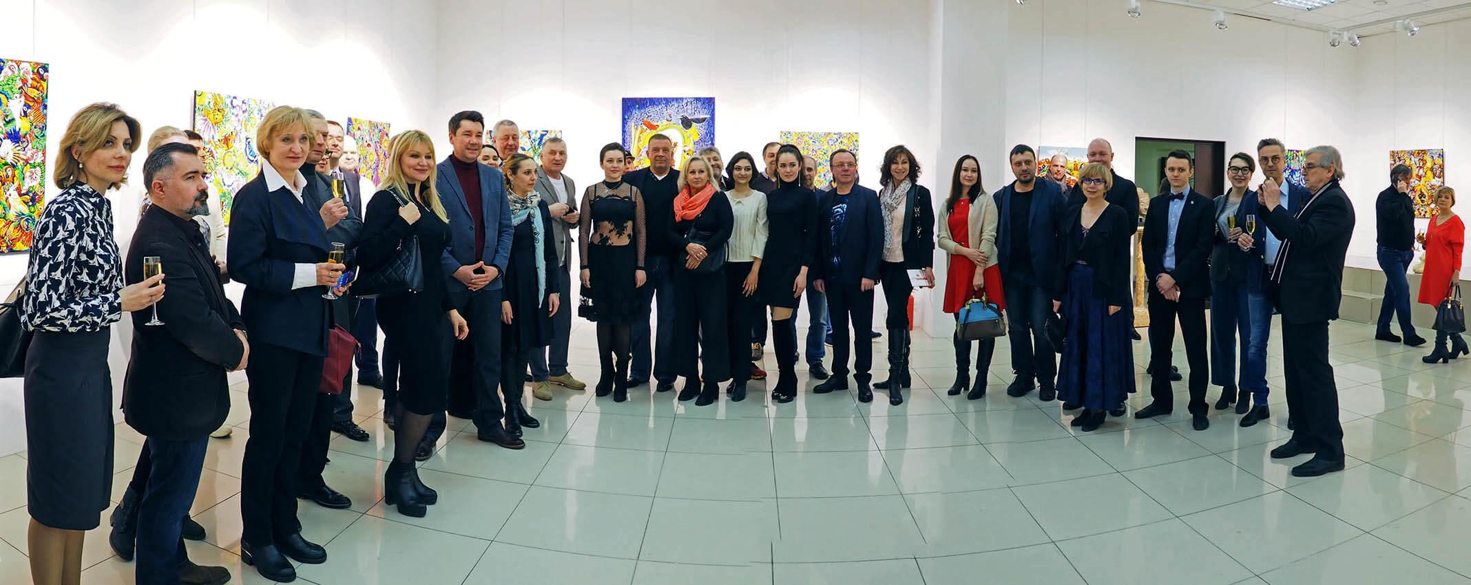Игорь Дрёмин: Выставка Ирины Чернавиной