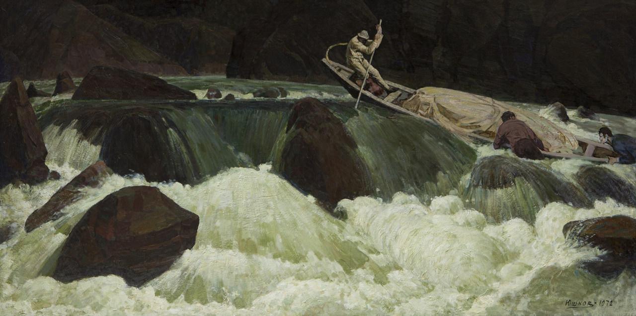 Иван Юшков. Первопроходцы.1972