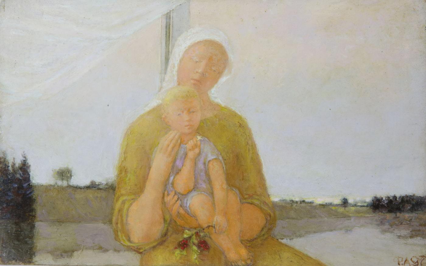 Филимонов А.Г. Картина. Мадонна. Серия Библейский цикл