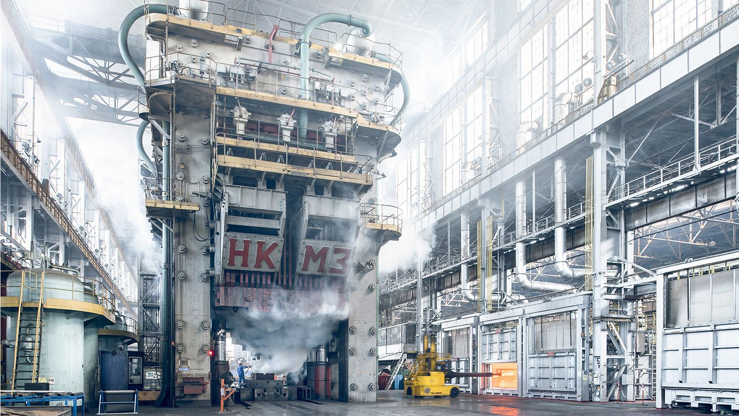 Askar Shaikhutdinov about the features of photographing metallurgical and industrial enterprises