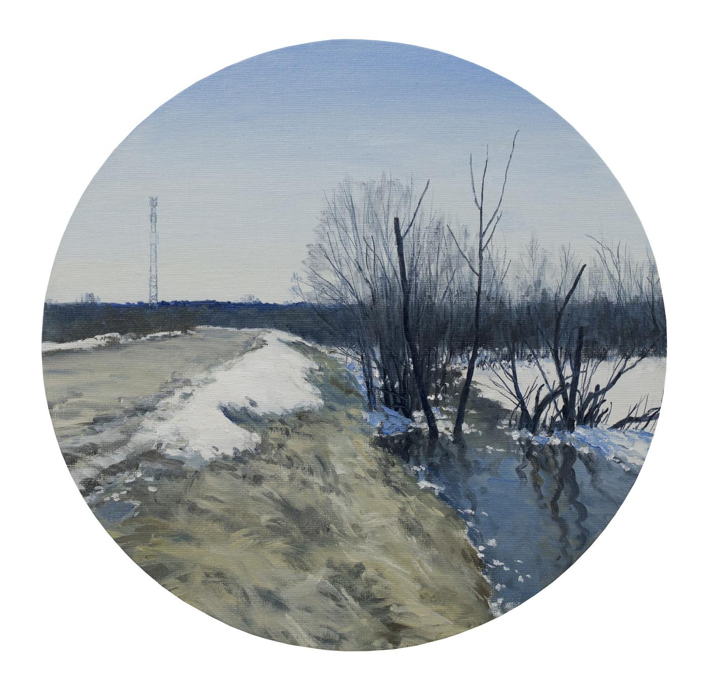 Егор Плотников. Пейзаж с ретранслятором № 18. 2018