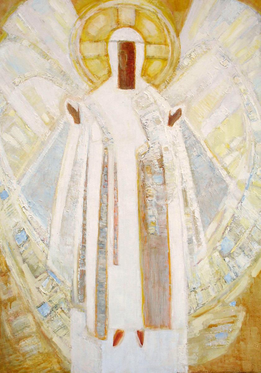 Малкина Л.Н. Белый вестник. 2010, Х.,м. 140х97,5