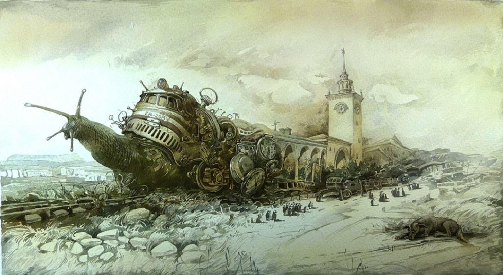 """Exposition de peintures et de graphiques d'Irina Zaitseva et de Yuri Laptev """"Les symboles de la Crimée"""""""