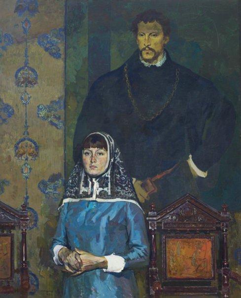 Аркадий Вычугжанин. Портрет художника театра Светланы Гаращук