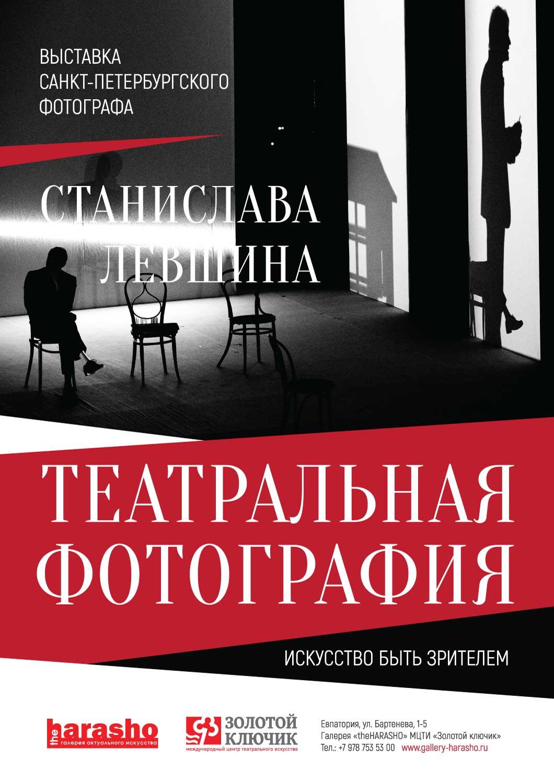 Выставка петербургского фотографа Станислава Левшина «Искусство быть зрителем»