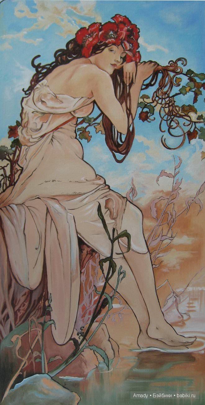 Женские образы на картинах выдающихся художников всех времен и народов