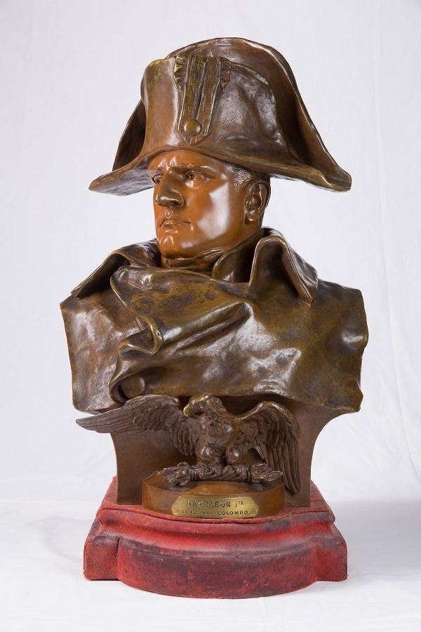 Наполеон в Москве. Скульптор Р. Коломбо. Бронза. Франция. 1885